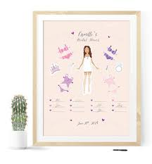 bridal shower guestbook bridal shower guest book with paper doll illustration