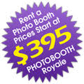 photo booth rental cost rent a photo booth for your wedding birthday or other