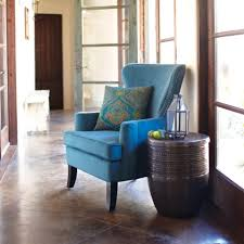 Blue Wingback Chair Design Ideas Set At Your Living Room Blue Wingback Chair Or You Can Put It Near