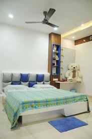 Interior Design In Hyderabad by Kids Bedroom With Soft Toys Designed By Samanth Gowda Architect