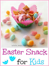easter snack for kids food fun friday mess for less