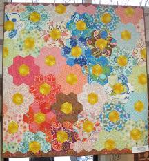 grandmother u0027s flower garden quilt the plaid portico