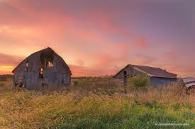 iowa scenery images Old barn at sunset in iowa photograph scenic landscape nature jpg