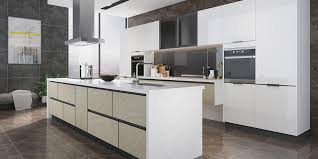 kitchen cabinets white lacquer high gloss white lacquer kitchen with island op19 l06