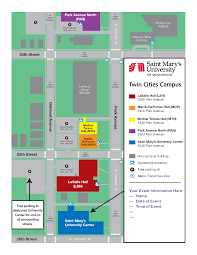 Smu Campus Map Twin Cities Campus Event Services U0026 Camps