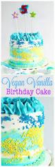 vegan vanilla birthday cake neuroticmommy
