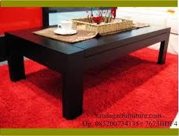 desain meja lesehan meja tamu minimalis saudagar furniture