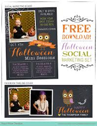 free halloween marketing templates for photographers halloween