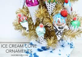 cone ornaments diy