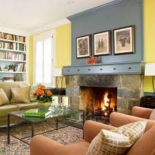 chic simple living room with fireplace amazing small living room