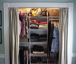Replace Sliding Closet Doors With Curtains Whilst Replacing Sliding Wardrobe Doors With Length Curtains