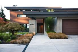 Modern Home Design Exterior 2013 Contemporary Mercer Island Lake House Infused With Asian Touches