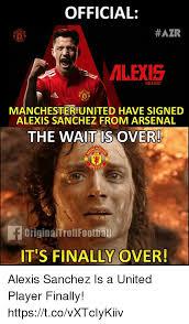Alexis Meme - official azr alexis alexis7 manchesteriunited have signed alexis