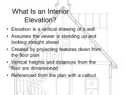 week 9 drafting interior elevations and sections ppt download
