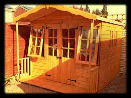 Summer Houses For Garden - fitted quality cheap summerhouses made of tongue and groove and