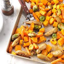 Roasted Vegetable Recipe by Roasted Vegetables With Sage Recipe Taste Of Home