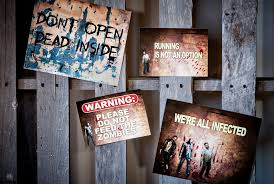 walking dead party supplies the walking dead inspired birthday dessert table hello my sweet