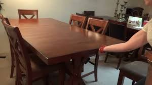 ashley furniture waurika dining table set d644 review youtube