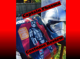 red cape spirit halloween star wars captain phasma costume youtube