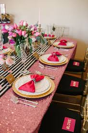 Pink And Gold Table Setting by A Red White Christmas Table Setting As You Wish Events Starlight