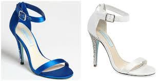 betsey johnson blue wedding shoes wedding shoe wednesday ready or knot omaha bridal shop part 4