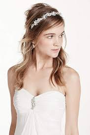 hairstyles with haedband accessories video hair accessories for all occasions on sale david s bridal