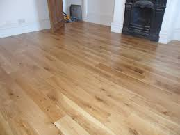 solid rustic oak timber flooring