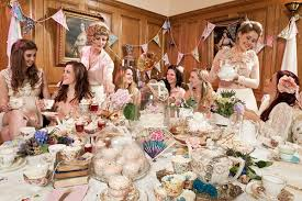 bridal shower tea party afternoon tea party bridal shower topup wedding ideas