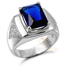 model cincin blue safir cincin kawin rojali perak batu blue safir asli kotagede shop