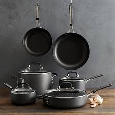 simply calphalon nonstick 10 piece cookware set bloomingdale u0027s