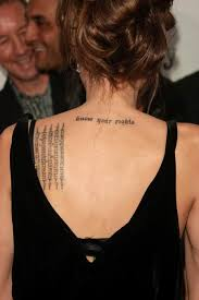 angelina jolie u0027s tattoos pictures tattoo art gallery
