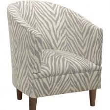 Zebra Accent Chair Furniture Wonderful And Cozy Upholstered Accent Chairs For Living
