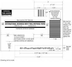 382 international business reply service postal explorer