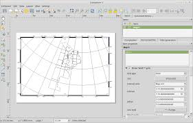Coordinates Map How To Add Grid Coordinates In Qgis 2 12 0 Lyon In The Print