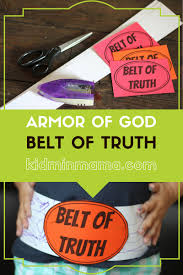 armor of god belt of truth lesson includes welcome question large