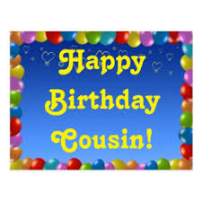 male cousin birthday cards greeting u0026 photo cards zazzle