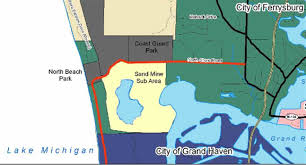 Grand Haven Map Grand Haven Tribune Sand Mining Site Questioned Again