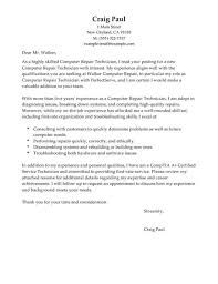 Sample Resume Computer Technician by Computer Lab Technician Cover Letter