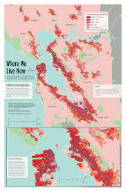 San Francisco Bay Map by Map Where We Live Now U2014 2010 Household Density And Priority