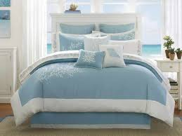 diy candle centerpiece for your beach theme party improvements white tone bedding quilts with coastal pattern on modern cool blue ocean surf beach bedroom ideas
