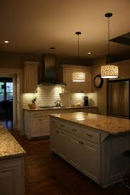 mini pendant lights for kitchen island amazing rustic beams and pendant lights a large kitchen