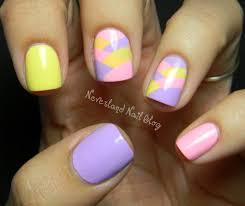 nail art cute easter nail designs easy art ideas neverland blog