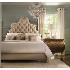 furniture sanctuary 5 tufted bed bedroom set in bling
