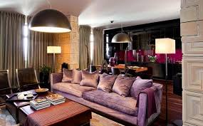 Purple Color Shades Modern Interior Design And Decor In Purple Color Shades