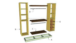 building closet organizer build this diy with the kreg jig plans