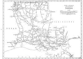City Map Of Louisiana by P Fmsig 1948 U S Railroad Atlas