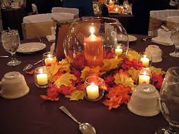 fall table decorations cheap ideas for wedding in latest round