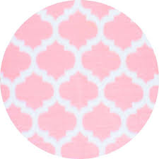 Faux Fur Area Rugs by Nuloom Faux Sheepskin Shaunna Pink 5 Ft X 5 Ft Round Area Rug