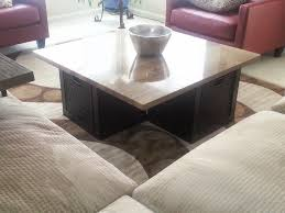 granite coffee table with expedit wall shelf and lack top lift 7