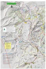 Park City Utah Trail Map by Winter Trails